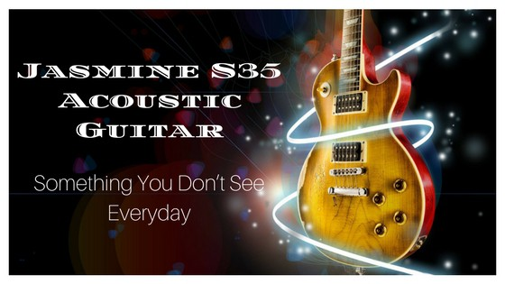 Jasmine S35 Acoustic Guitar Something You Don T See Everyday My