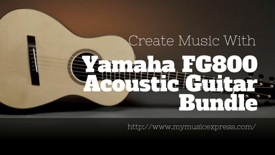 Yamaha FG800 Review