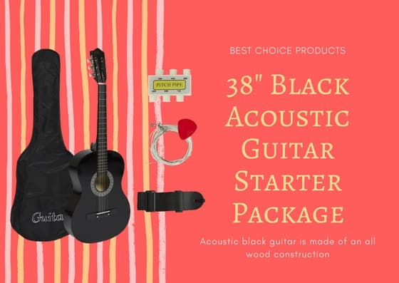best 38 inch acoustic guitar