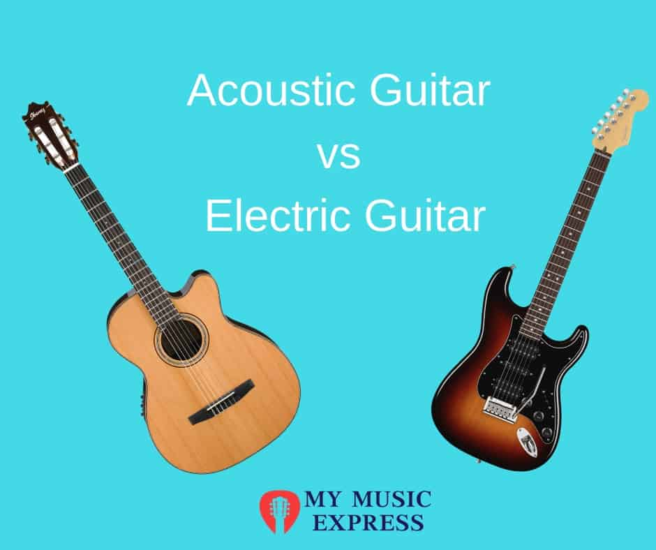 Acoustic guitar vs electric guitar- which is right for you?   1