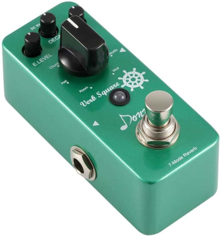 Digital Reverb Guitar Effect Pedal Verb Square 7 Modes by Donner