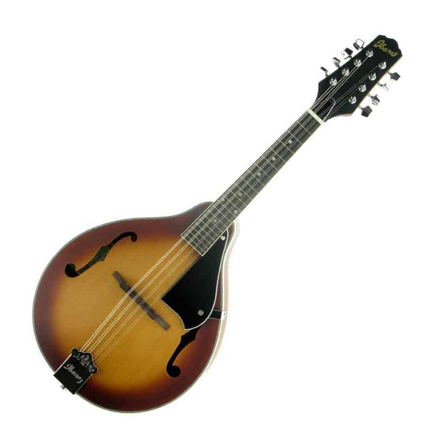 Ibanez's M510LBS Mandolin Limited Edition Satin Light Brown Sunburst
