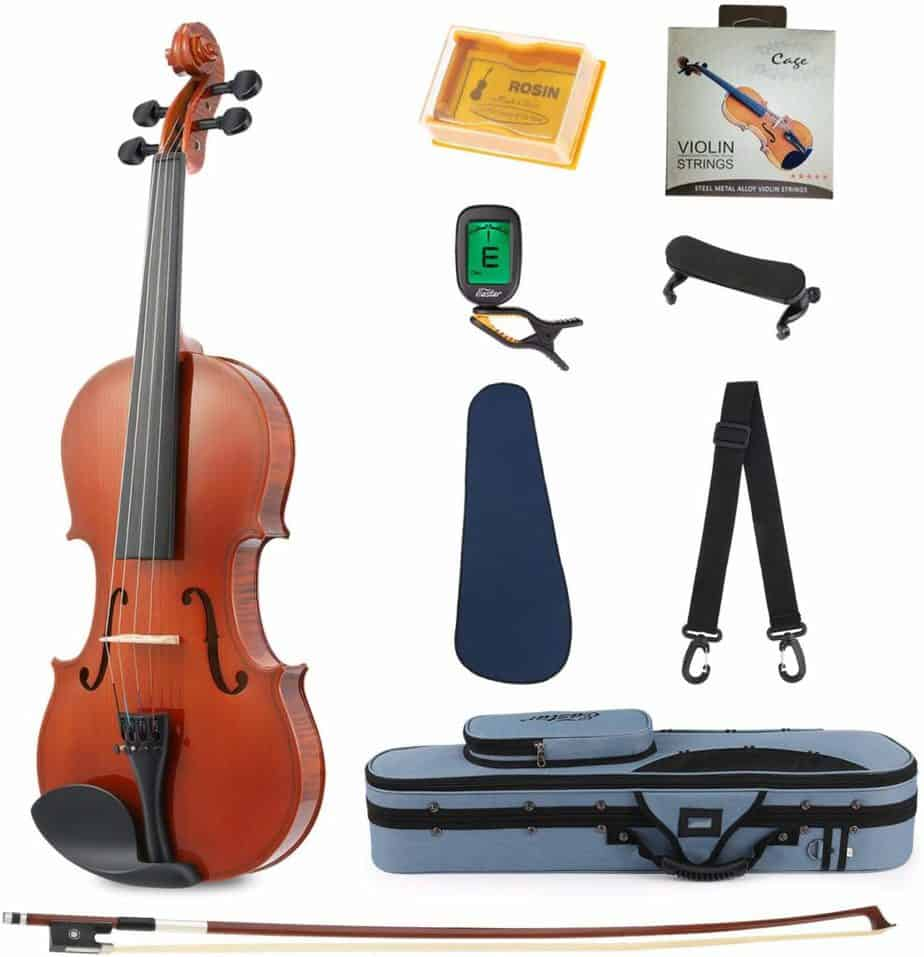 Eastar EVA-1 1/2 Natural Violin Set For Beginners