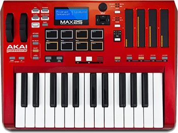 Akai Professional MAX25 | 25-Key USB MIDI Keyboard