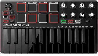 Akai Professional MPK Mini MKII LE Black - best MIDI keyboard for Ableton