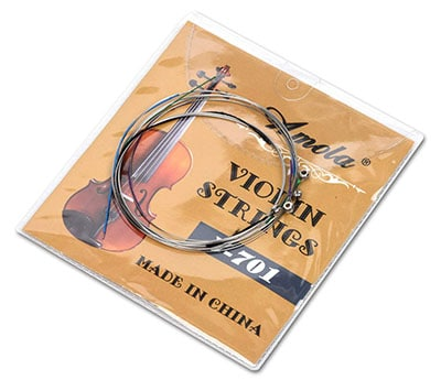 Alice's 5 sets replacement stainless steel Fiddle string violin strings
