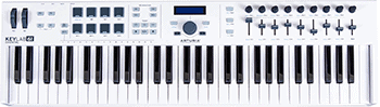 Arturia KeyLab Essential 61 Universal MIDI Controller and Software with Sustain Pedal