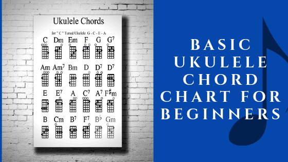 Basic Ukulele Chord Chart for Beginners