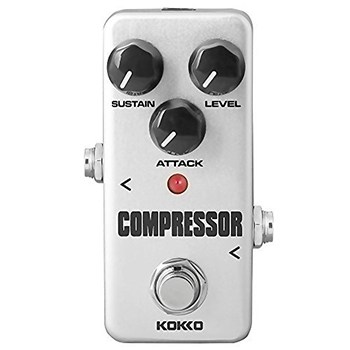 Compressor Guitar Pedal - KOKKO (FCP2) - best bass compressor