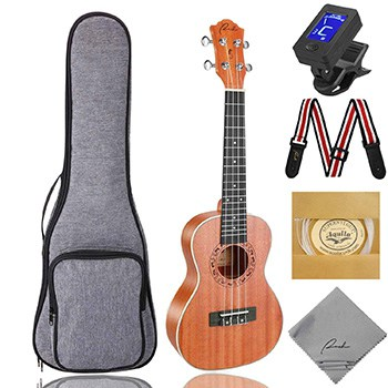 The Best Concert Ukulele 9
