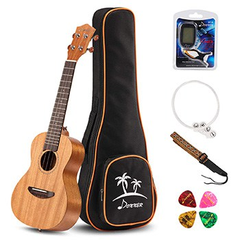 The Best Concert Ukulele 3