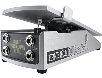Ernie Ball's 500K Stereo Volume Pan Pedal - best volume pedal