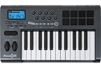 M-Audio AXIOM 25-Key Semi-Weighted Keyboard USB MIDI Controller