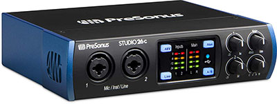 PreSonus Studio USB-C Audio Interface