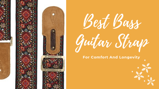 best bass guitar strap