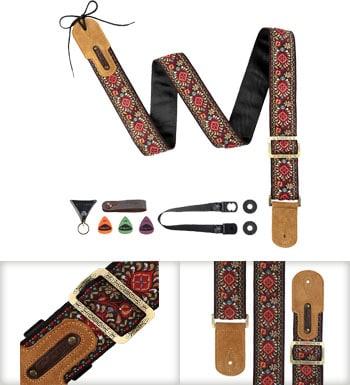M33 Vintage Woven Guitar Strap