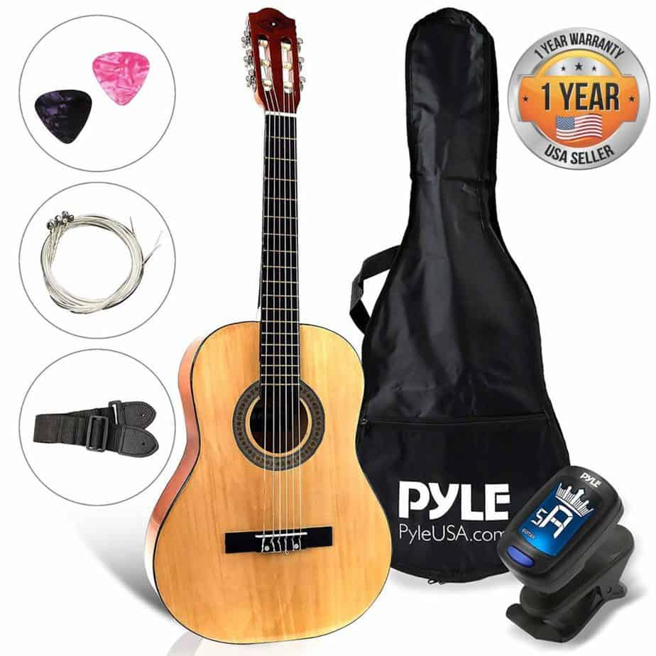 Beginner 30 Inch Classical 6 String Acoustic Guitar from Pyle