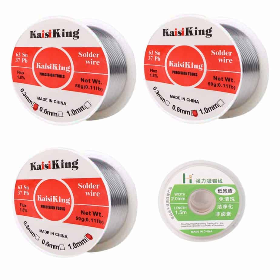 Kaisiking Tin-lead solder wire set