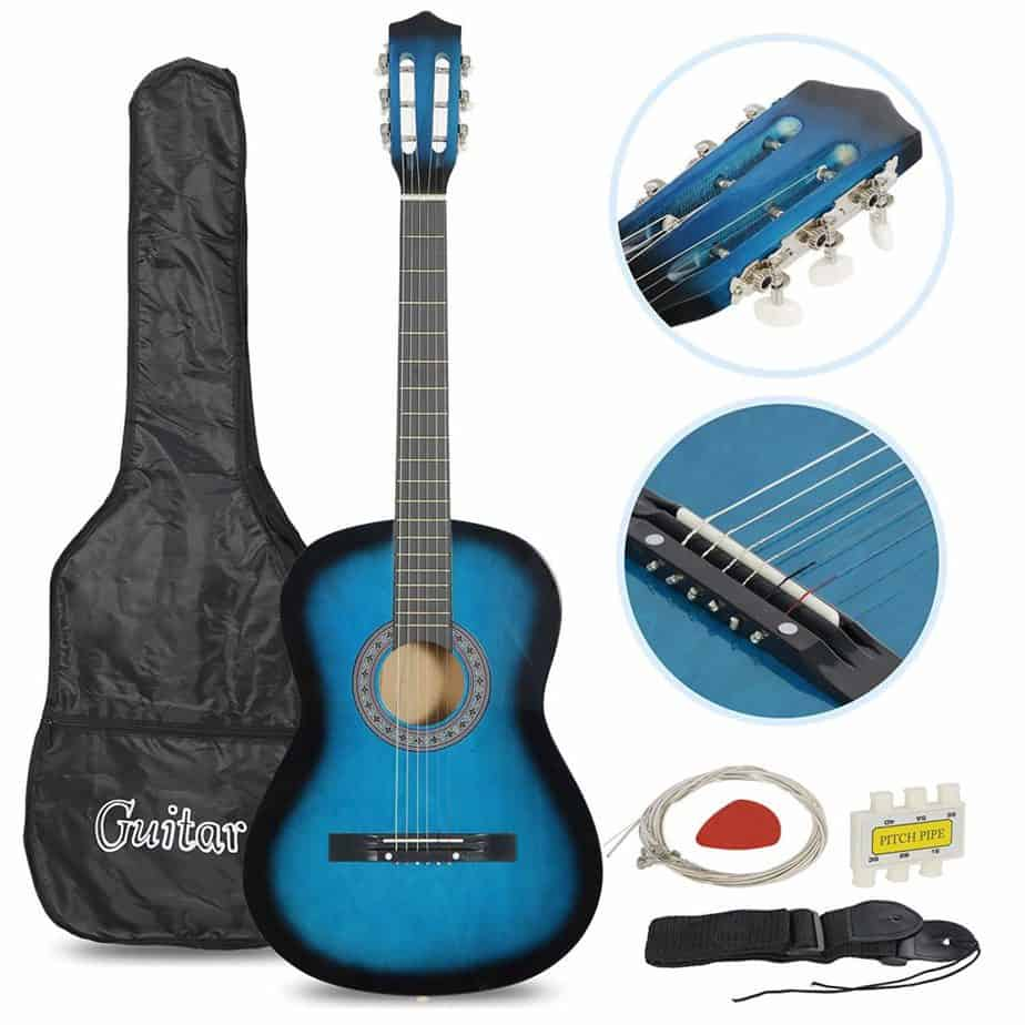 Smartxchoices Acoustic Guitar for Starter Beginner Music Lover Kids