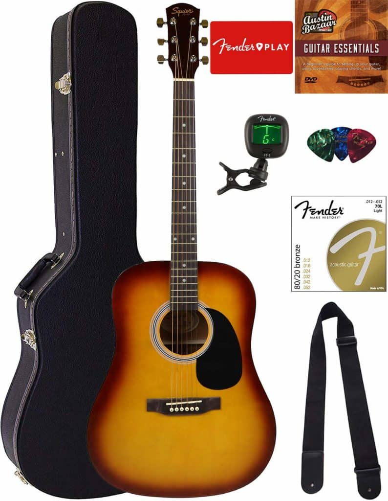 Fender Squier Dreadnought Acoustic Guitar
