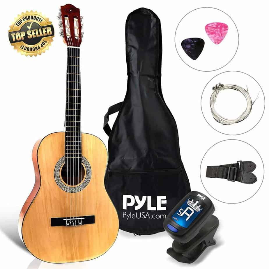 Beginner 36 Inch Classical 6 String Acoustic Guitar from Pyle