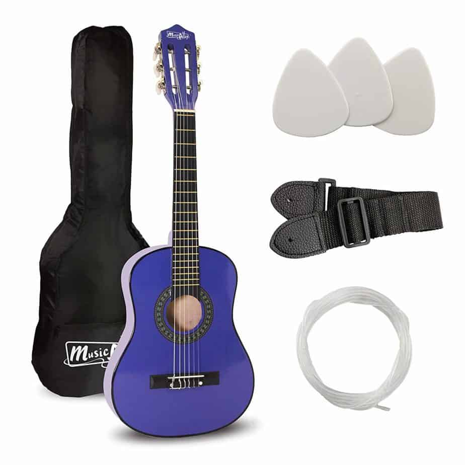 Music Alley 6 String 30 Inch Half Size Junior Guitar