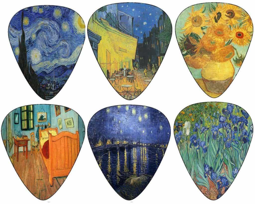 VincentVan Gogh Guitar Picks