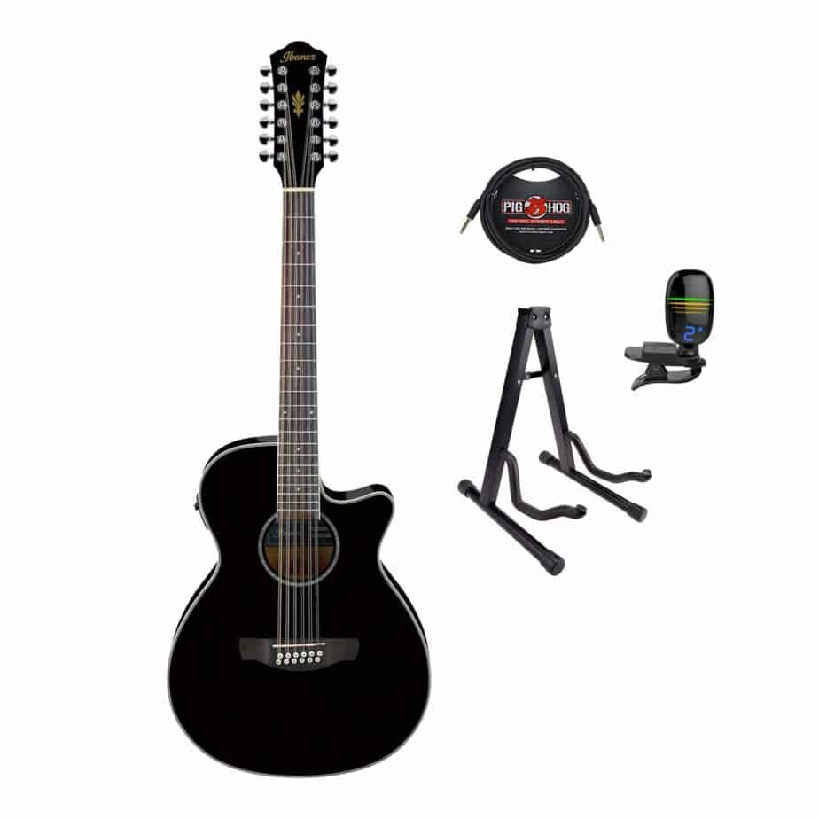Ibanez AEG1812II Acoustic/Electric Guitar