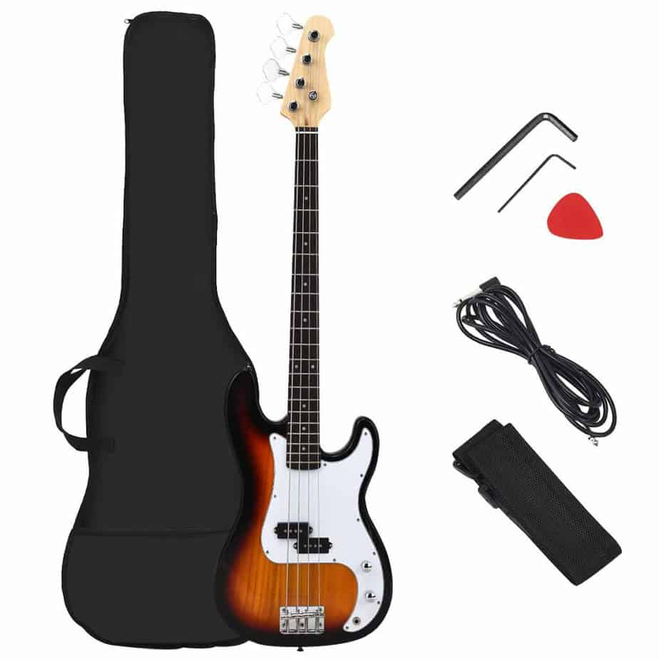 Costzon Full Size Electric 4 String Bass Guitar