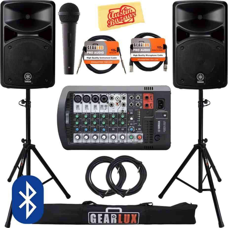 best PA system for acoustic guitar and vocals