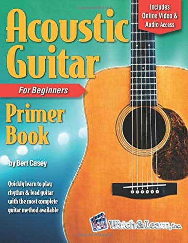 Acoustic Guitar Primer Book for Beginners