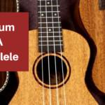 How do you strum a ukulele?