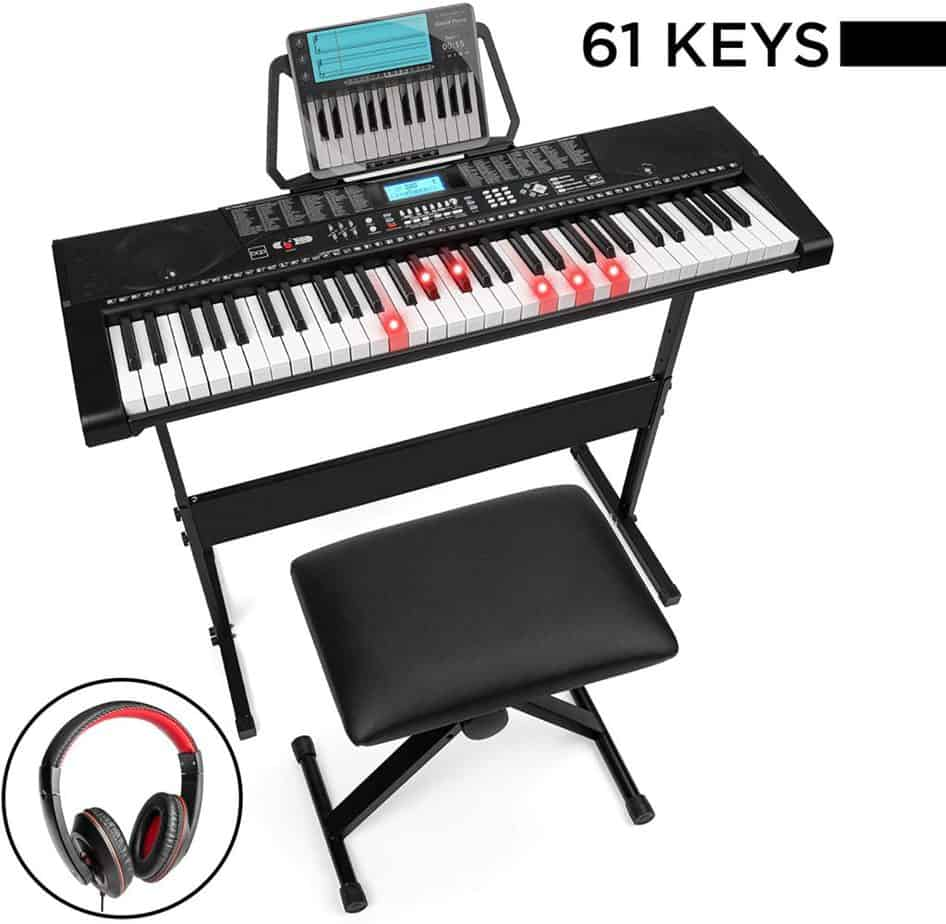 Best Choice Products Electric Keyboard Piano Set