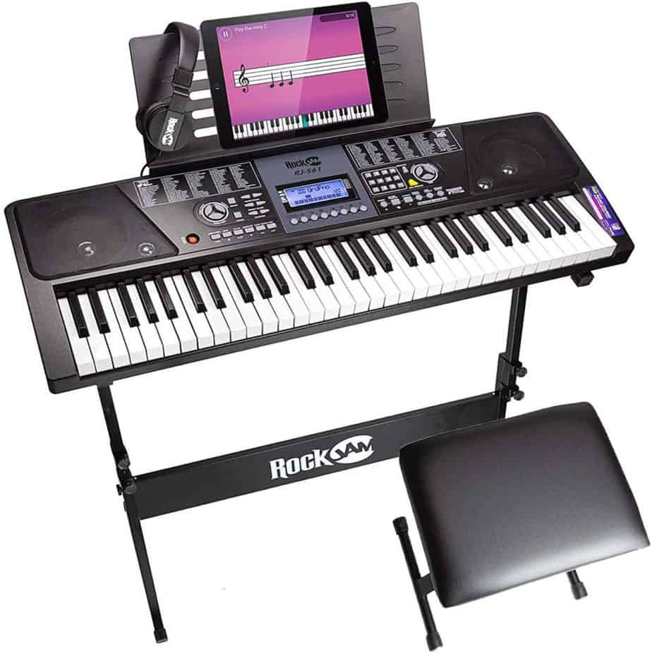 RockJam 61-Key Electronic Keyboard Piano
