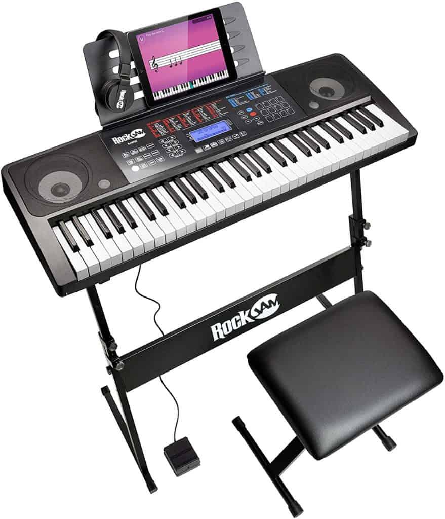RockJam RJ761 Interactive Teaching Piano