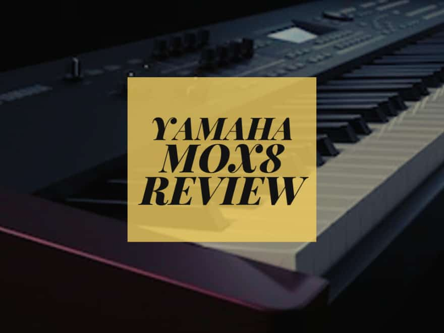 Yamaha mox8 review