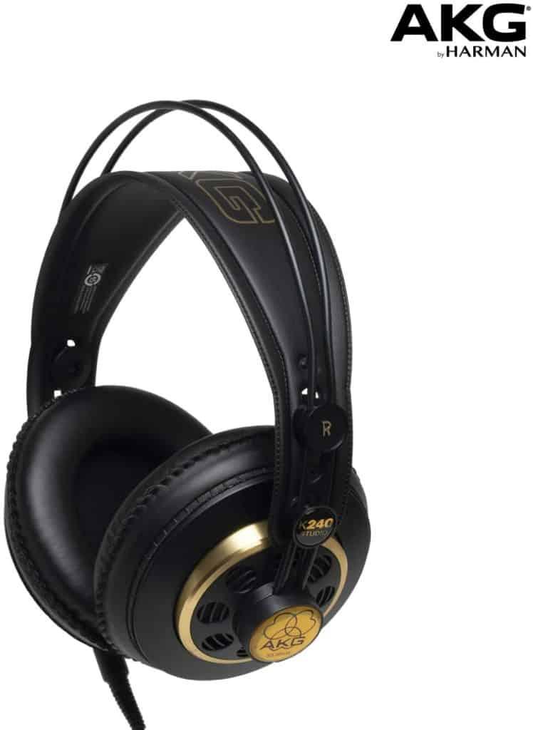 AKG pro audio Over-ear, semi-open headphones