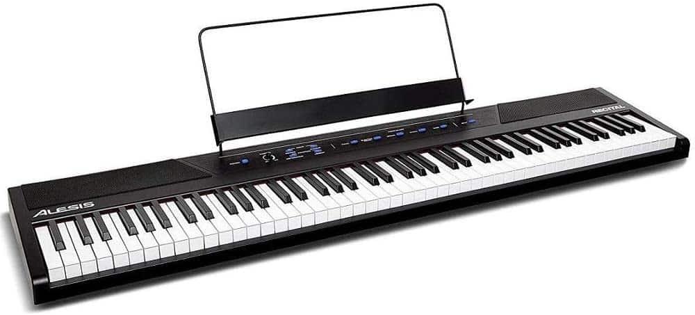 Alesis recital 88 keys configuration digital keyboard