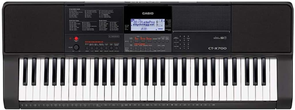 Casio CT-X700 61 key keyboard