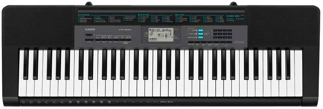 Casio CTK 2550 61 key keyboard