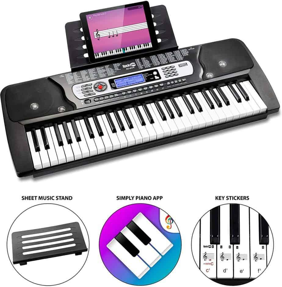 Rockjam 54-key portable electronic piano