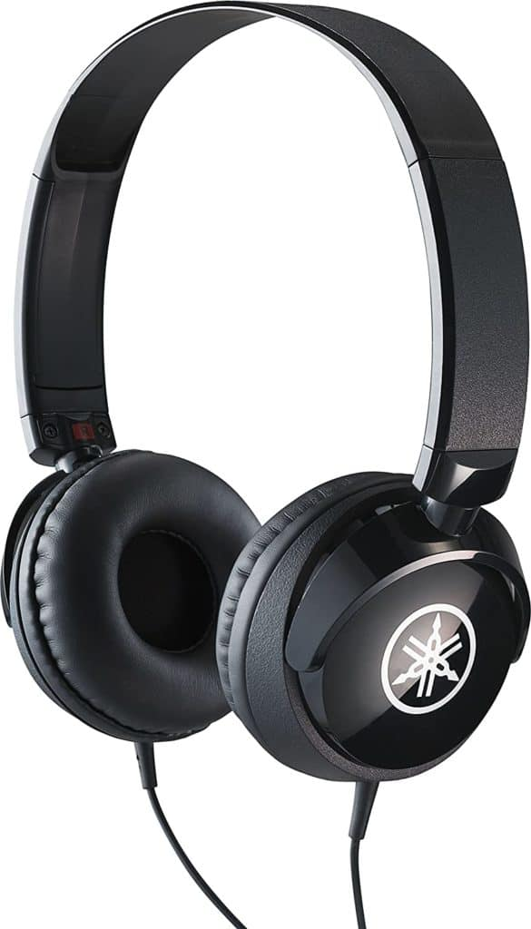 YAHAMA HPH-50B COMPACT CLOSED BACK HEADPHONES