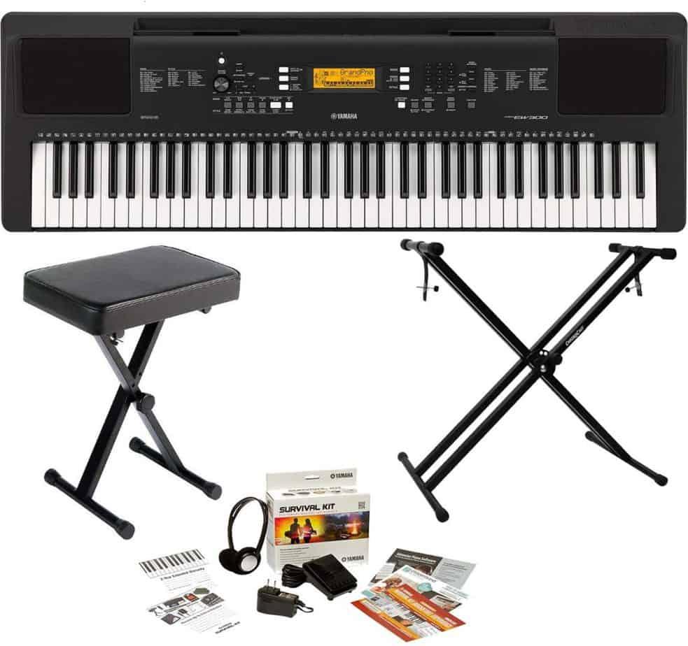Yamaha PSREW300 Portable Digital Keyboard