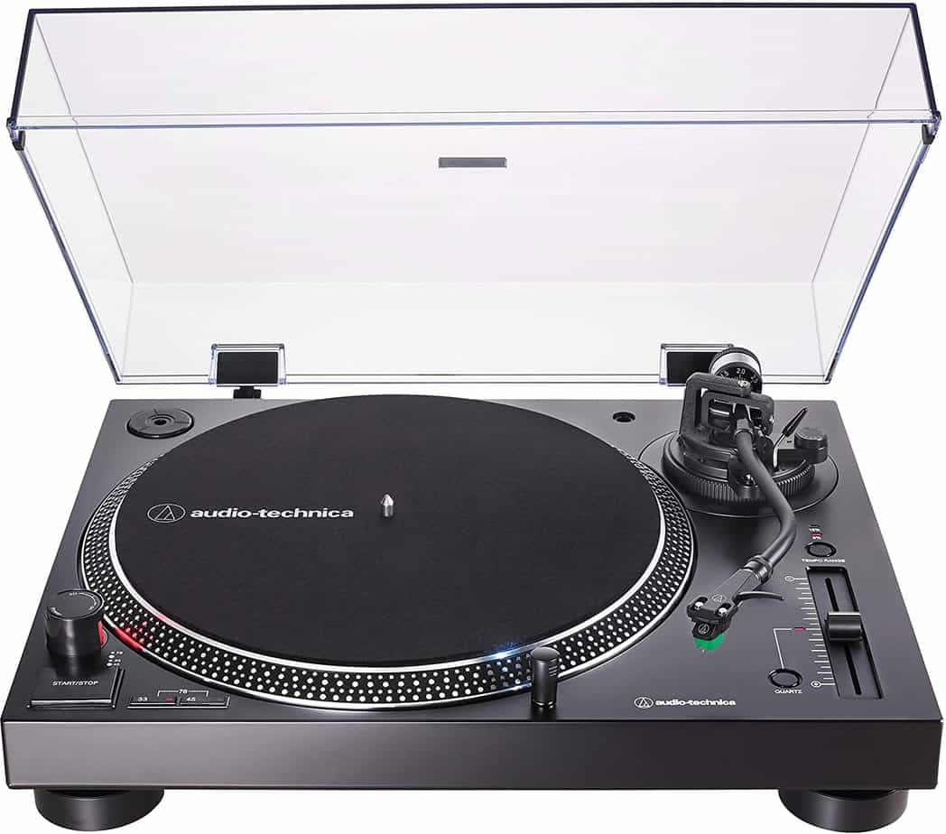 Audio Technica Direct Drive Turntable AT-LP120XUSB-BK