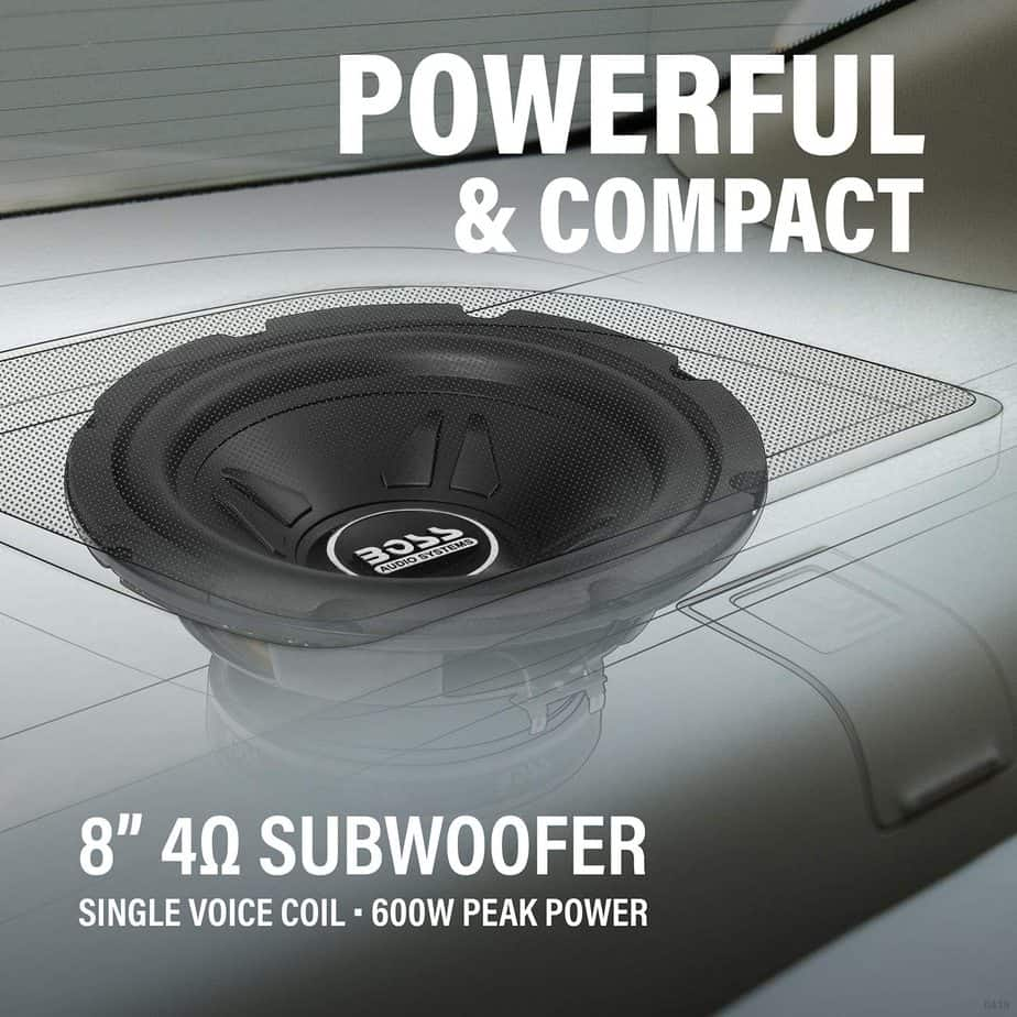 BOSS Audio Systems CXX8 8 Inch Car Subwoofer
