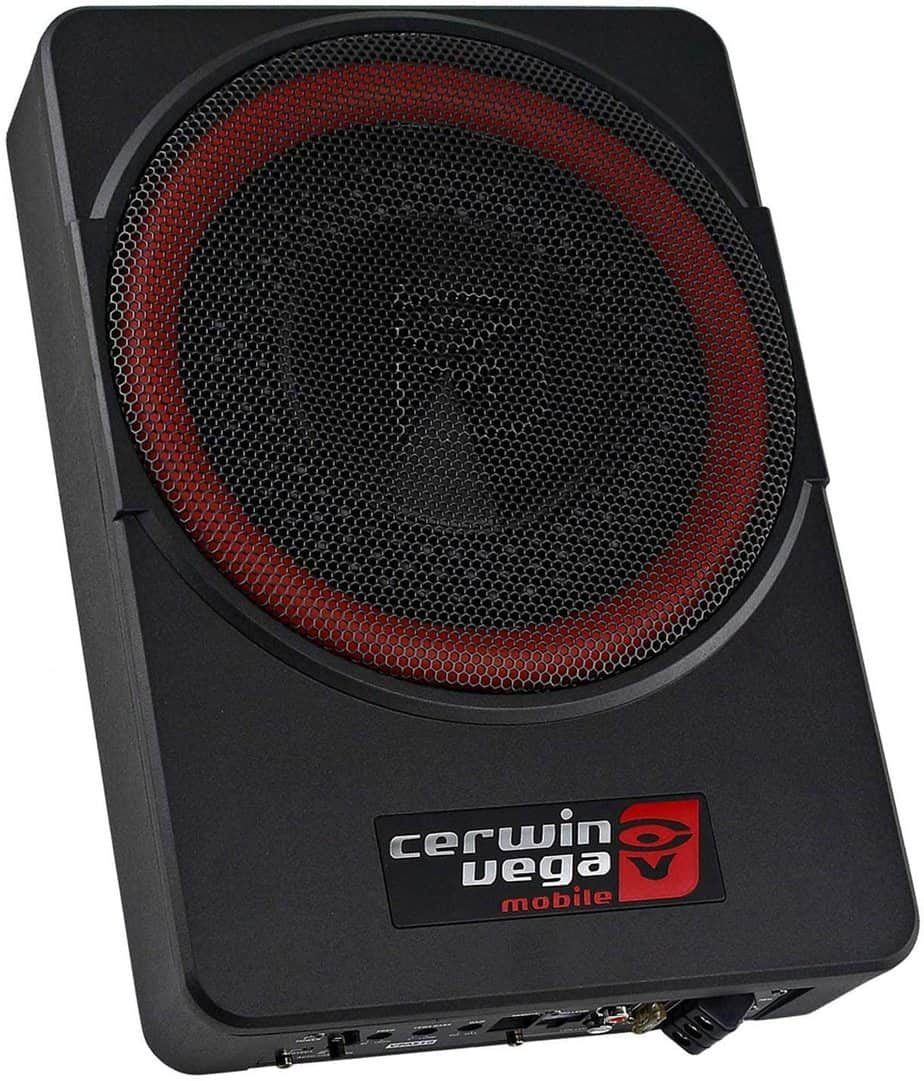 Cervin vega's Subwoofer With A Built-In Amplifier-Best under seat subwoofer