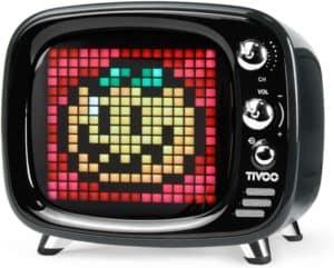 Divoom Tivoo Retro Bluetooth Speaker-Best Car Speakers for Bass