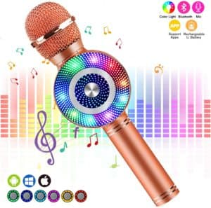 FISH OAKY Karaoke microphone