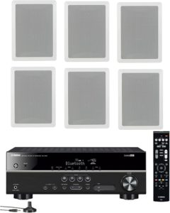In-Wall Speaker System Set of 6 from Yamaha-best in wall speakers