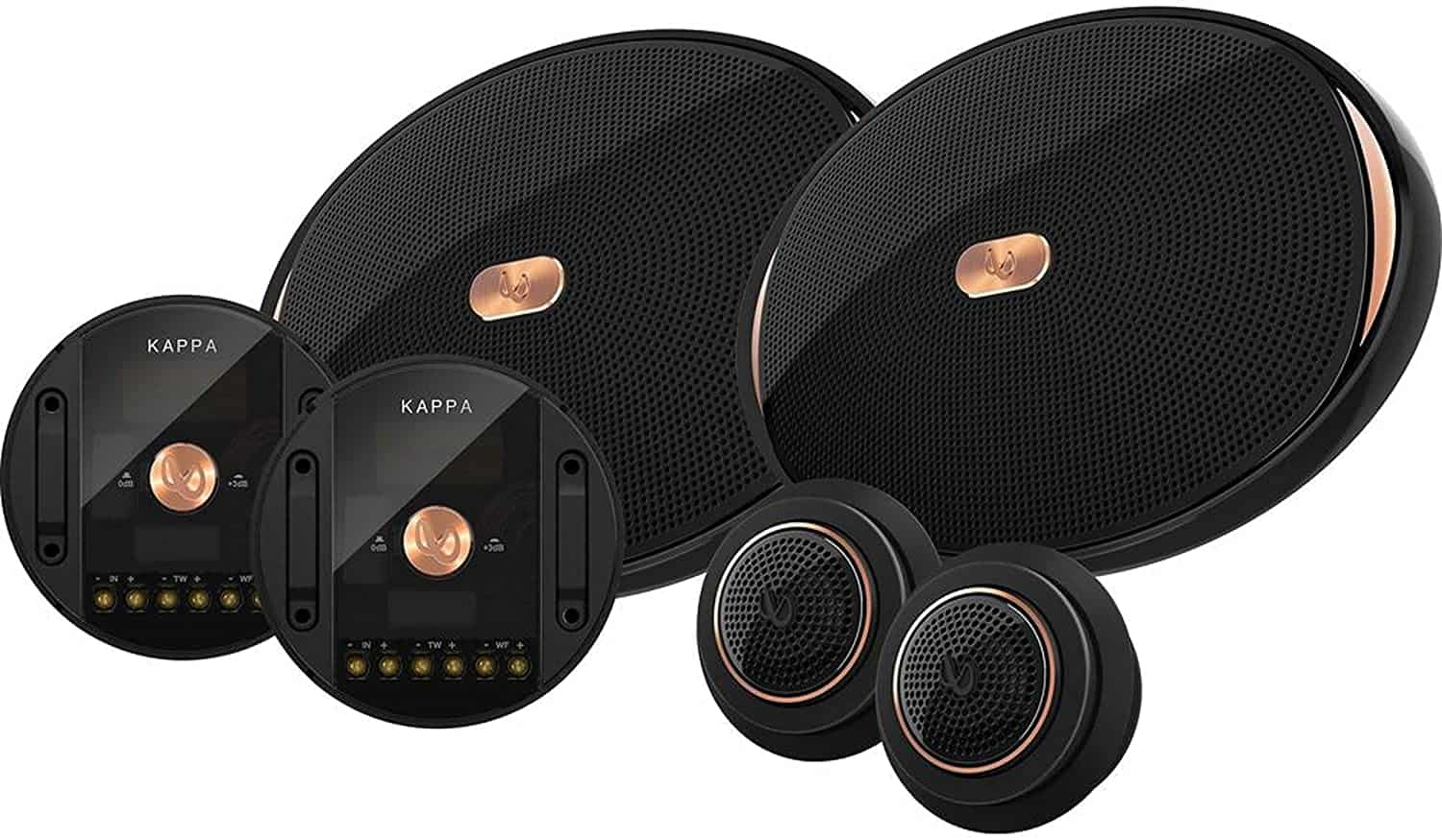 Infinity KAPPA-90CSX 6x9 Two-Way Component Speakers